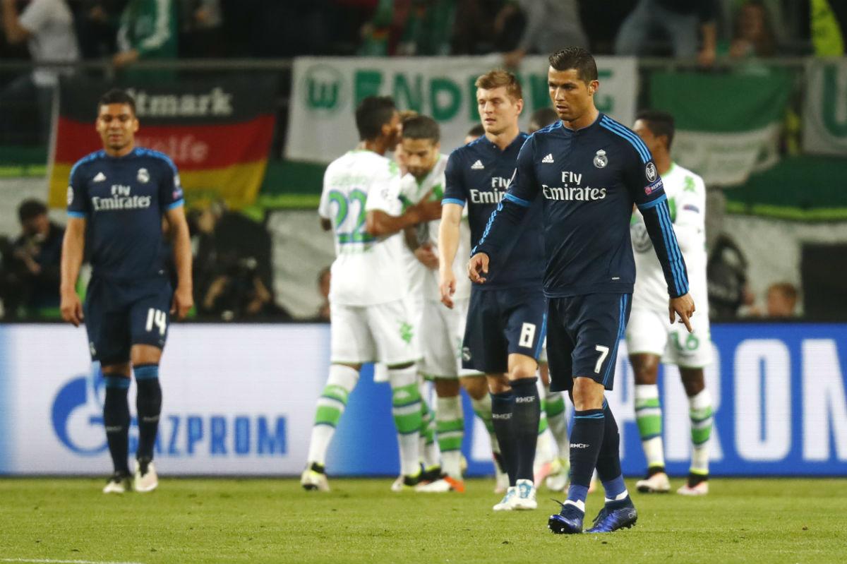 Cristiano Ronaldo, con gesto cabizbajo. (Reuters)