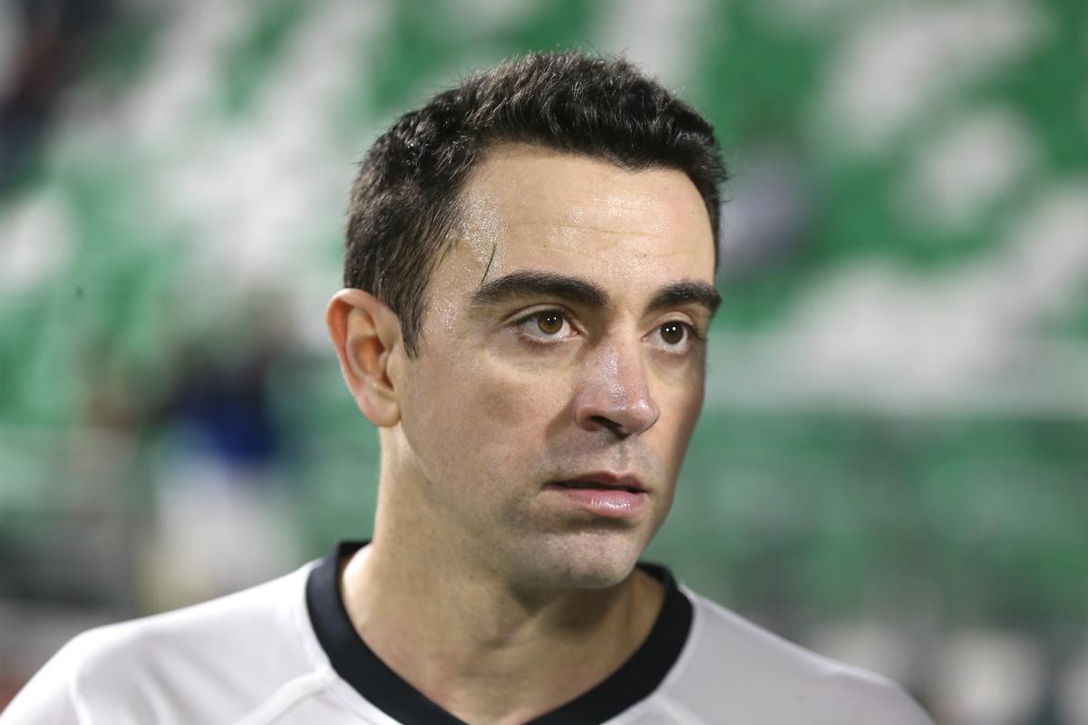 Xavi quiere dirigir al Barça. (AFP)