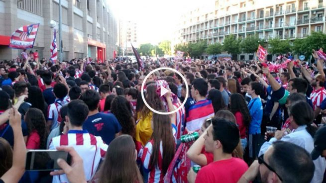 Concentracion en el Calderón