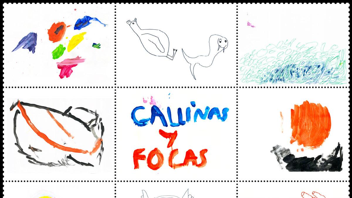 Etiqueta de Gallinas y Focas (Foto: 4kilos)