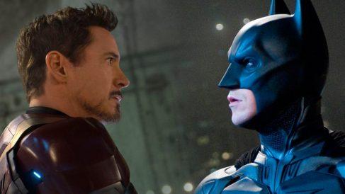 Iron Man y Batman (Foto: Elaboración propia)