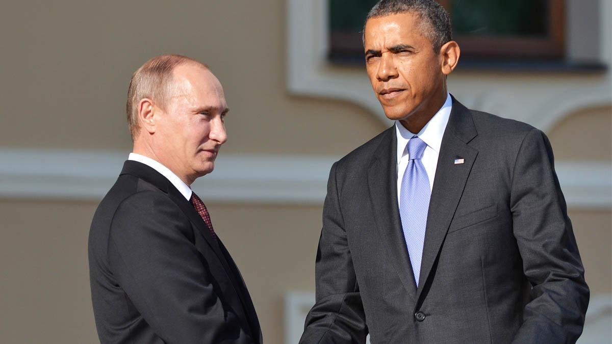 Vladimir Putin y Barack Obama. (Foto: Getty)
