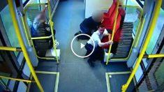 La actuación de este conductor probablemente salvó varias vidas.