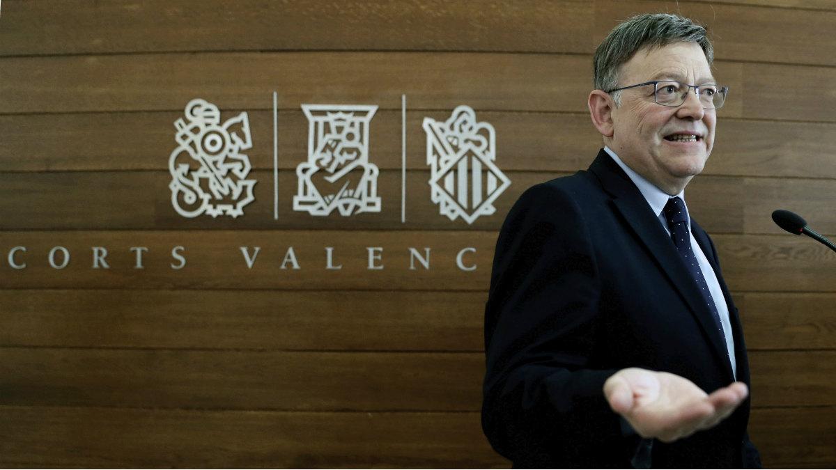El presidente de la Comunidad Valencia, Ximo Puig. (Foto:EFE)