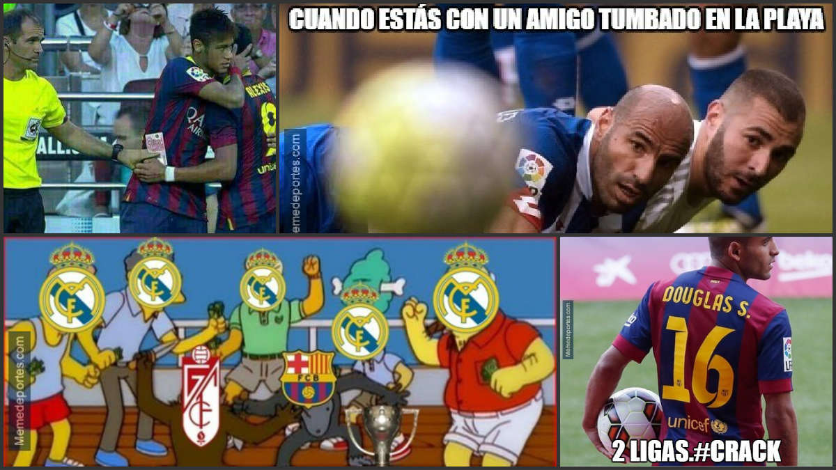 Los mejores memes de la última jornada de Liga.