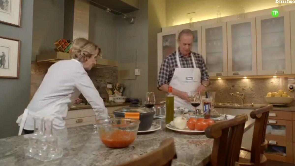 Berlín Osborne y Esperanza Aguirre en una imagen del programa.