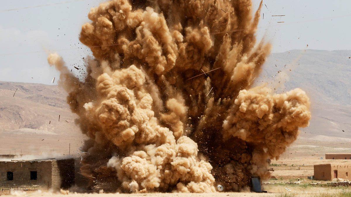 Explosión en zonas controladas por el PKK. (Foto: Reuters)