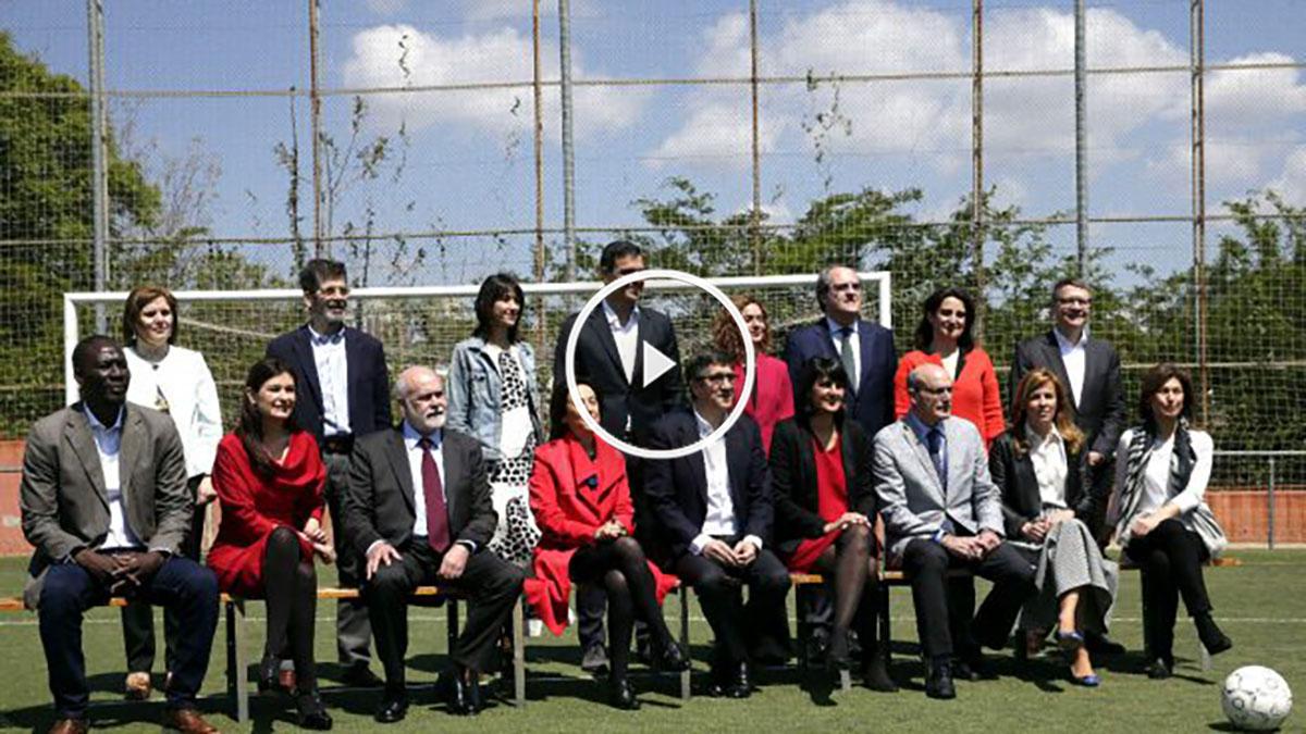 Sánchez presenta a su equipo de gobierno