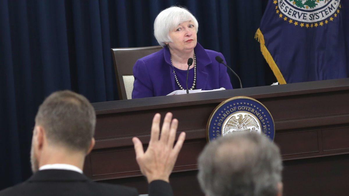 La presidenta de la Reserva Federal, Janet Yellen (Foto: GETTY).