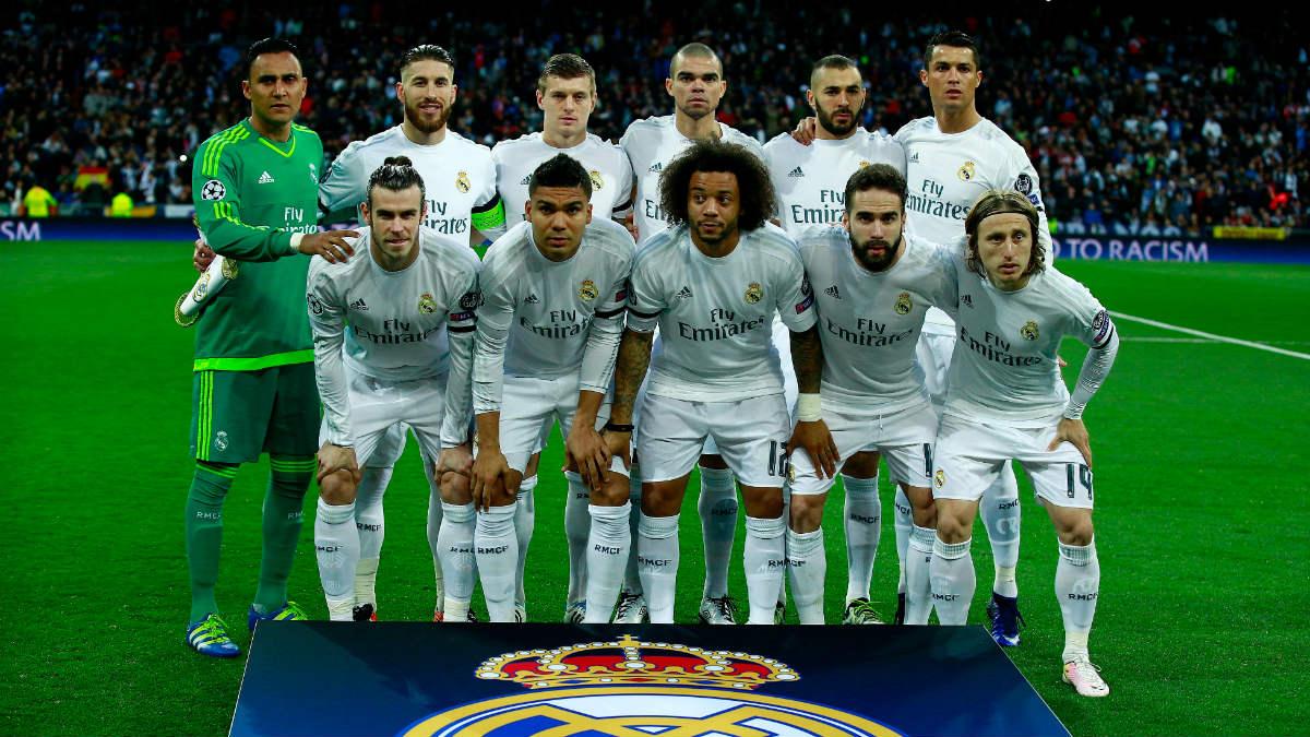La alineación del Real Madrid que remontó al Wolfsburgo. (Getty)