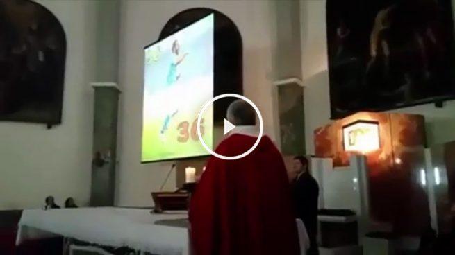 Nápoles rinde homenaje a Higuaín… ¡en misa!