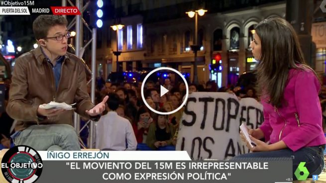 Éxito de 'El objetivo' de Ana Pastor al lograr 1,4 millones de espectadores con su especial 15M