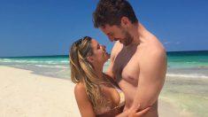 Pau Gasol, junto a su novia Catherine McDonnell en las playas de México.
