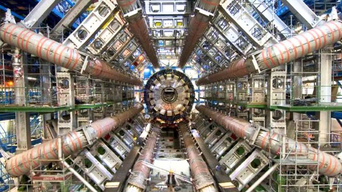 Imagen del acelerador de partículas CERn. (Foto: CERN)