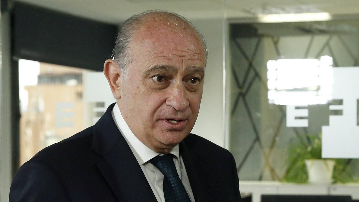 El ministro del Interior, Jorge Fernández Díaz. (Foto: EFE)