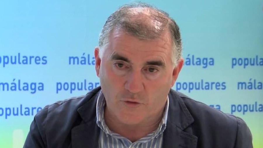 El nº3 del PP de Málaga, Manuel Marmolejo.