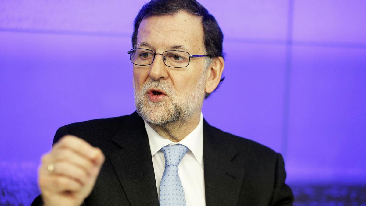 El presidente del Gobierno en funciones Mariano Rajoy (Foto: EFE)