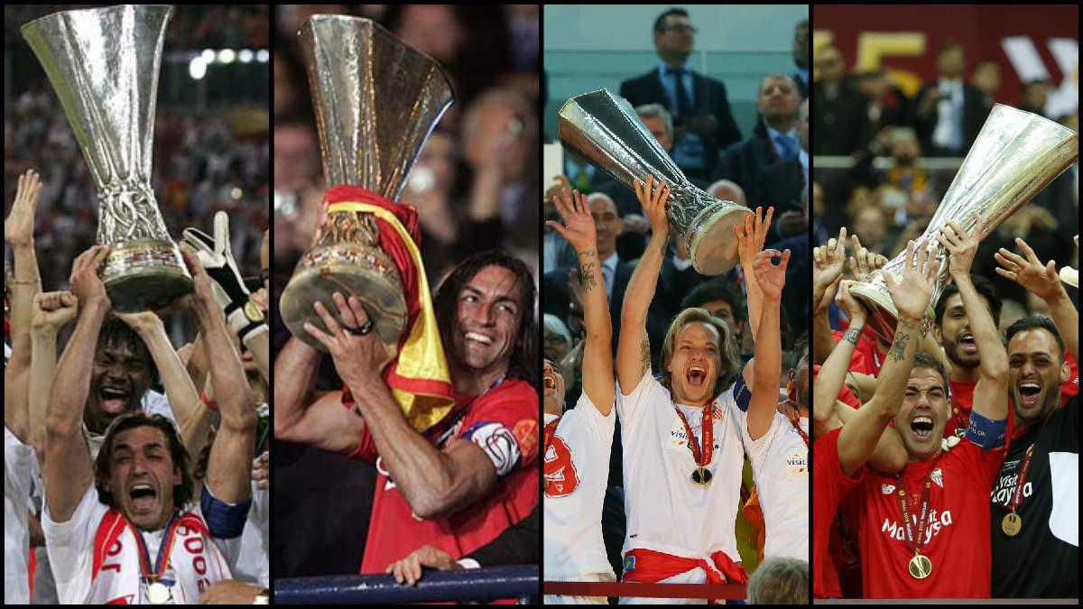 El Sevilla ha conquistado cuatro Europa League.