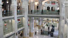 Interior del espacio CentroCentro en el Palacio de Cibeles de Madrid. (Foto: Madrid)