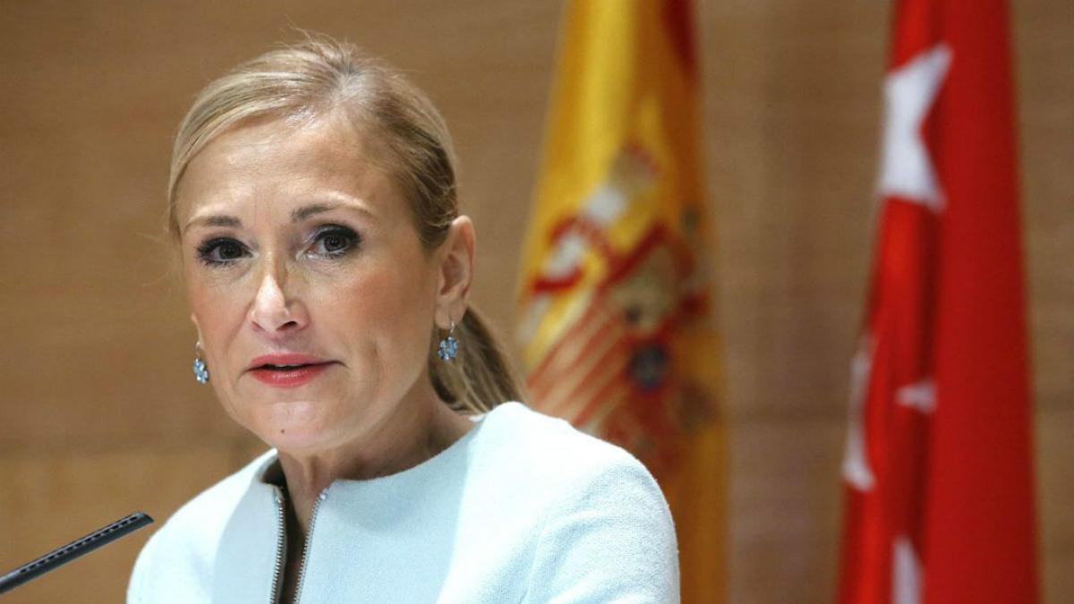 Cristina Cifuentes, presidenta de la Comunidad de Madrid. (Foto:EFE)