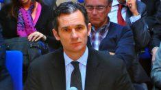 Iñaki Urdangarin, en el banquillo de los acusados. (Foto: EFE)