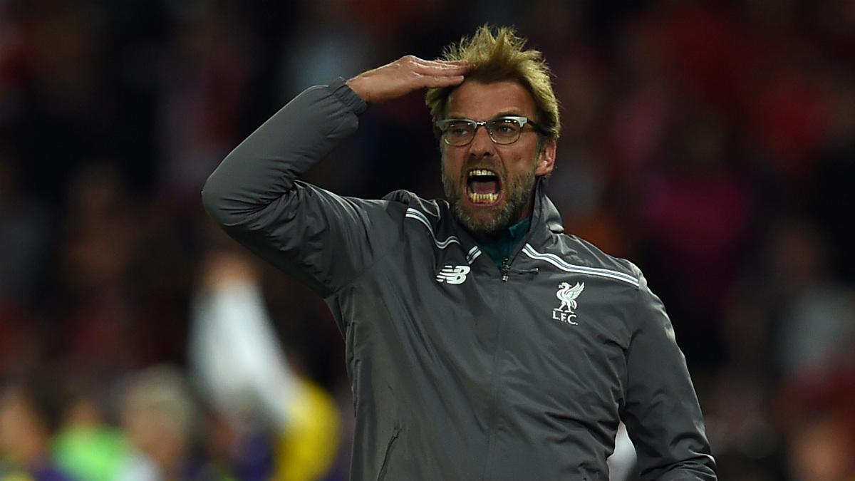 Jurgen Klopp durante un partido del Liverpool. (AFP)