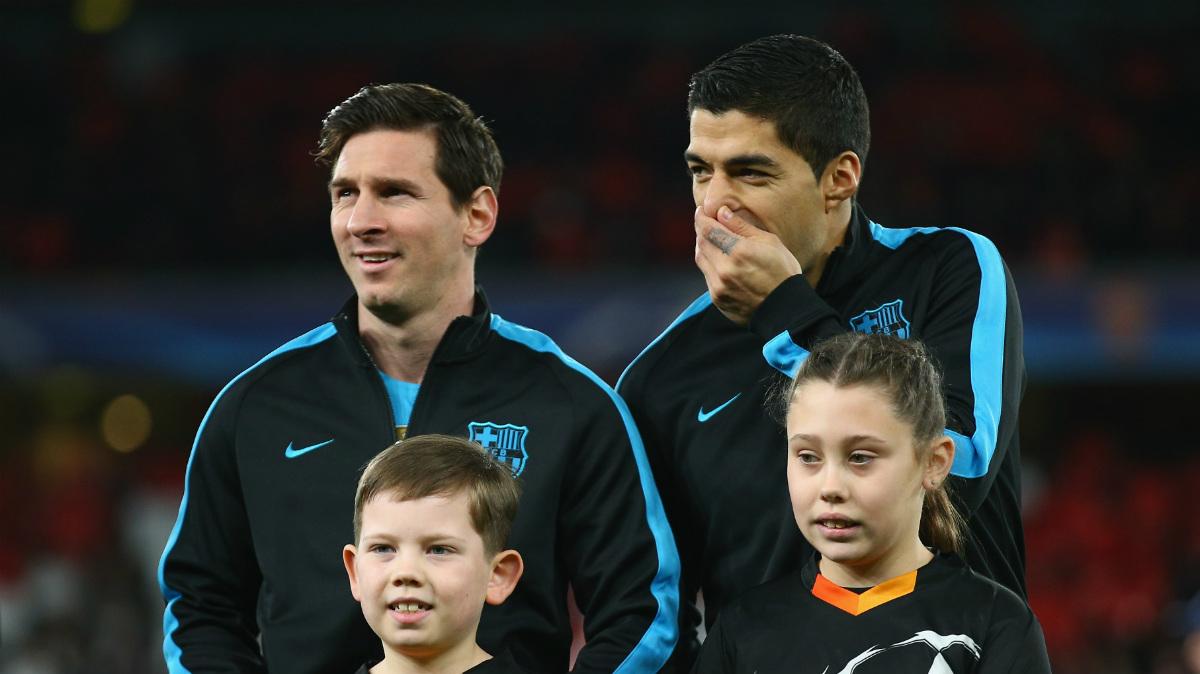 Messi y Luis Suárez son algunos de los motivos por los que el Barça no irá a Qatar. (Getty)