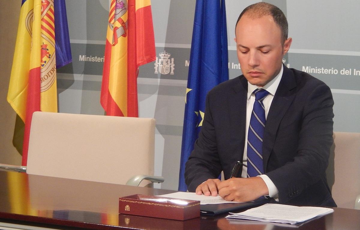 Xavier Spot Zamora, ministro de Justicia e Interior de Andorra.