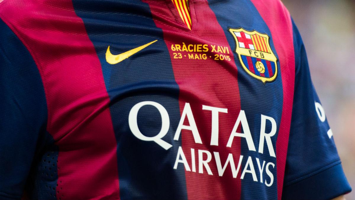 El patrocinio de Qatar la próxima temporada con el Barcelona es una incógnita. (Getty)