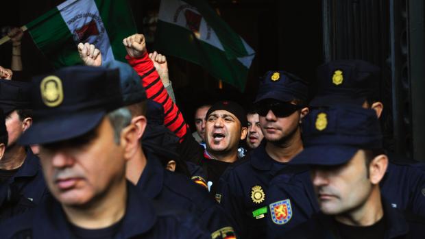 El condenado Andrés Bódalo antes de entrar en prisión. (Foto: GETTY)