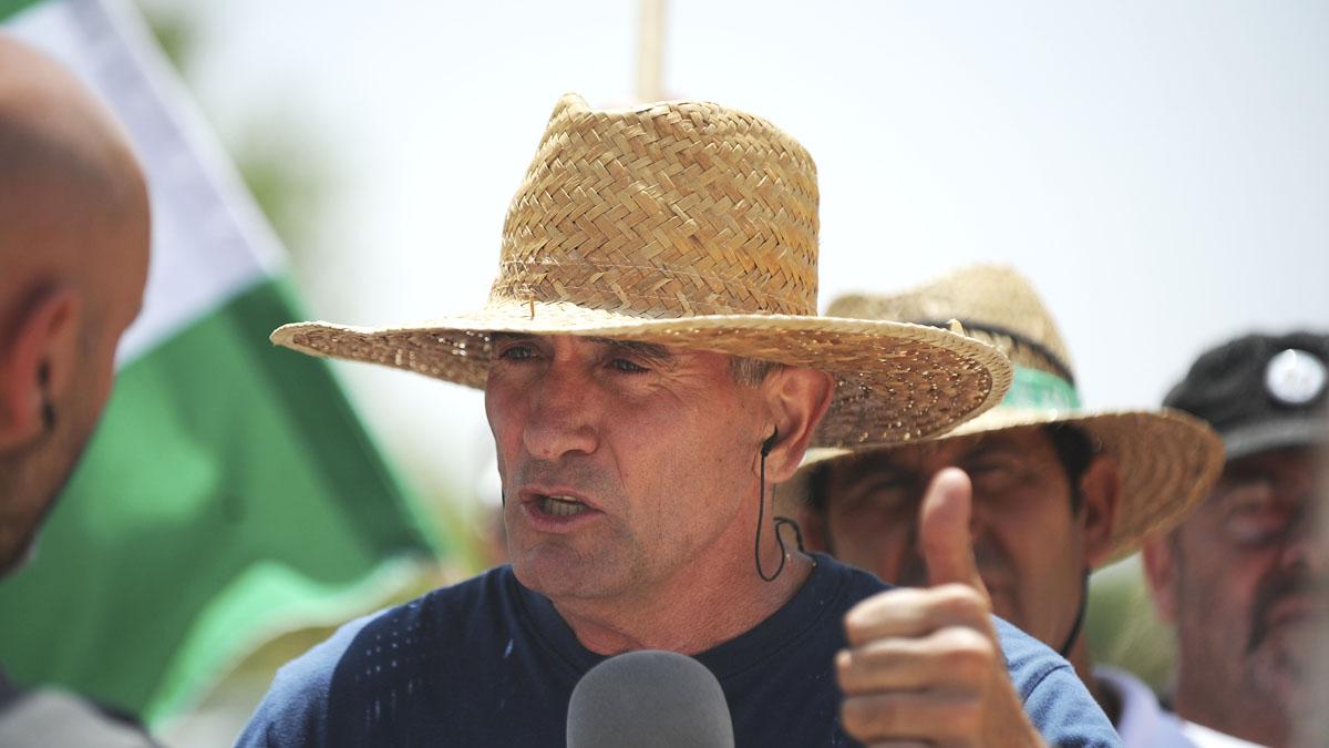 Diego Cañamero. (Foto: AFP)