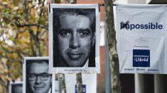 Carteles electorales con Francesc Homs y Artur Mas. (Foto: AFP)