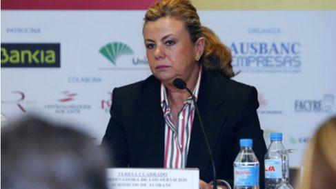 Teresa Cuadrado, esposa de Luis Pineda, presidente de Ausbanc.