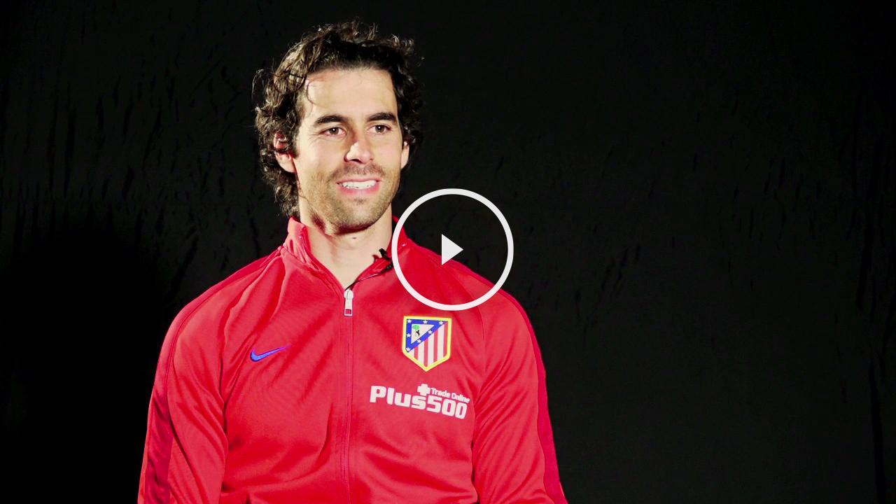 Tiago, feliz por su renovación con el Atlético.