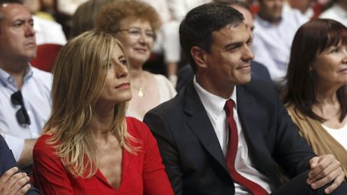 Begoña Gómez y Pedro Sánchez (Foto Efe)