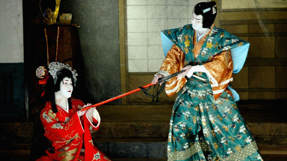 El teatro Kabuki se caracteriza por los impresionantes maquillajes que llevan los actores, así como por diferentes elementos de la puesta en escena. (Foto: Getty)