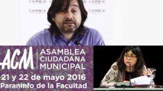 Los cargos electos de Podemos pasan de las bases. (Fotos: PM)