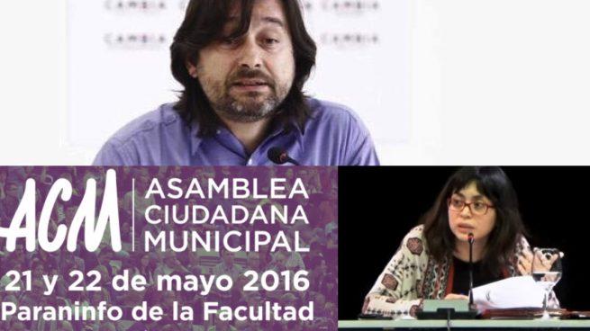Rafa Mayoral y Rommy Arce también se borran del cónclave de Podemos Madrid