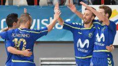 Los jugadores del Movistar Inter dominaron los premios 'Futsalplanetawards'.