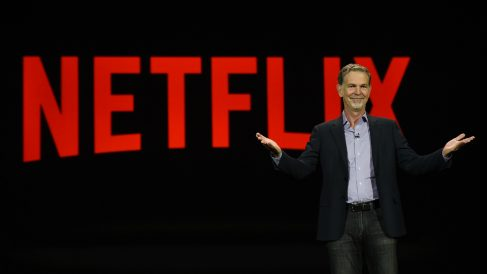 El presidente de Netflix, Reed Hastings , ya mostró su disconformidad ante las cuotas por difundir contenidos europeos. (Foto: AFP)