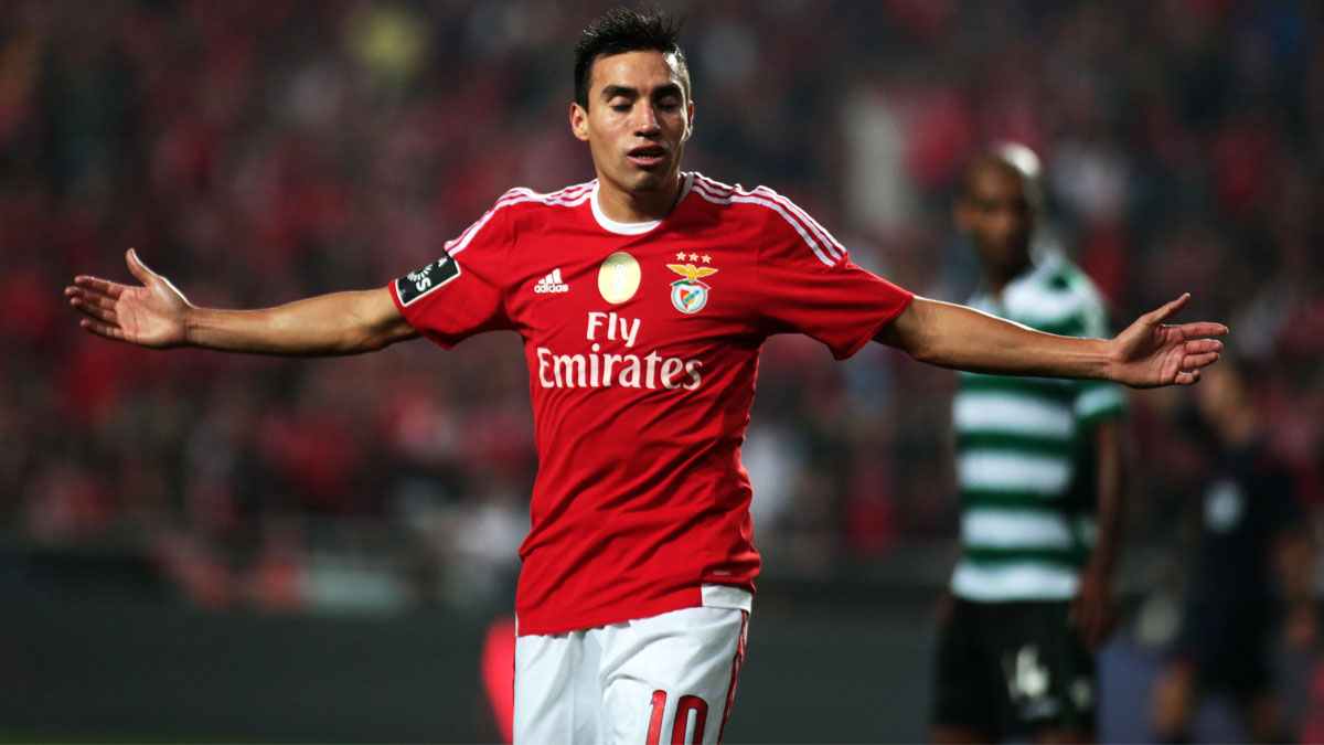 Nico Gaitán ha sido un jugador vital en el Benfica (Foto: Getty)