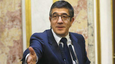 El secretario de Acción Política y Ciudadanía del PSOE, Patxi López (Foto: Efe)