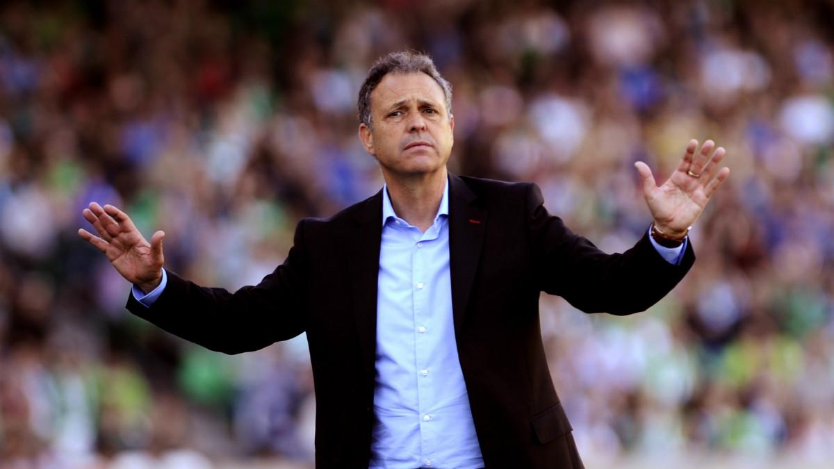 Joaquín Caparrós, ex entrenador del Sevilla. (AFP)