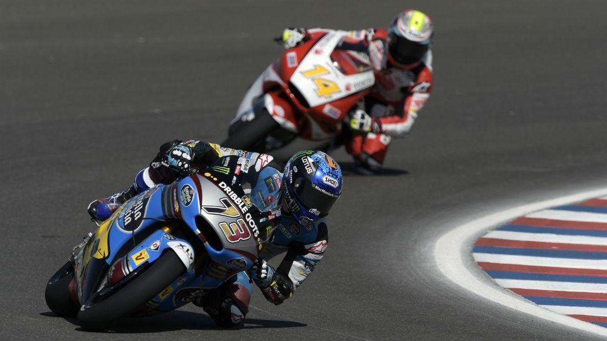 Álex Márquez, en el GP de Argentina. (AFP)