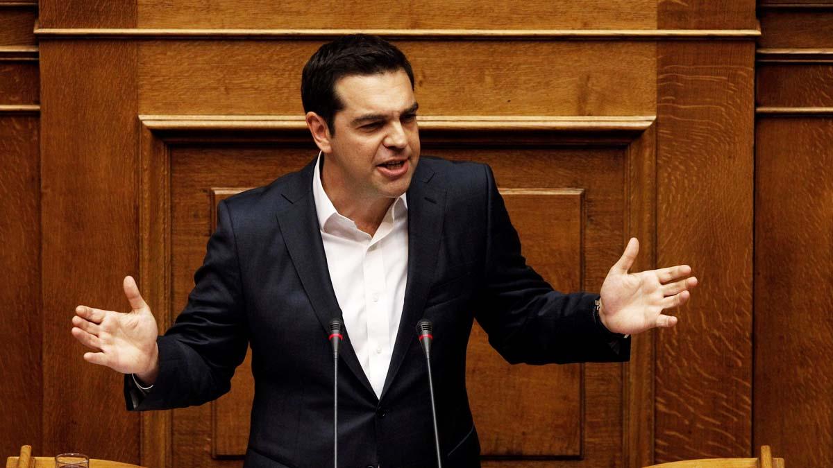 El primer ministro griego Alexis Tsipras (Foto: Reuters)