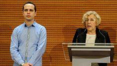 José Manuel Calvo y Manuela Carmena (Foto: AYUNTAMIENTO DE MADRID).