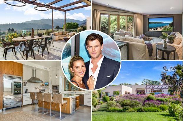 Elsa Pataky y Chris Hemsworth nueva casa en Malibú