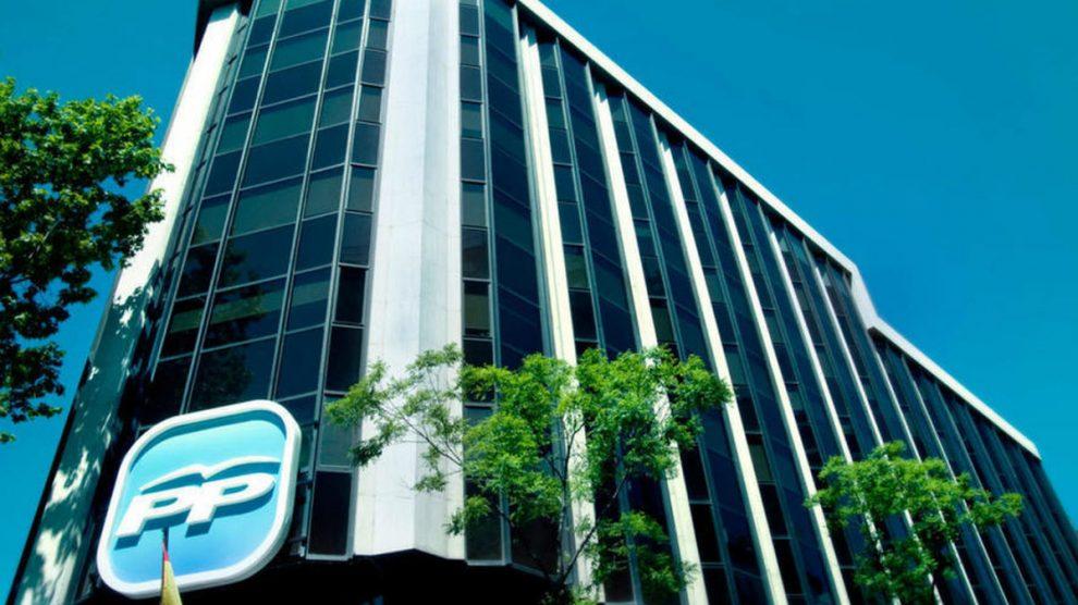 Edificio de la sede del Partido Popular en la calle Génova. (Foto: Partido Popular)   Última hora Madrid
