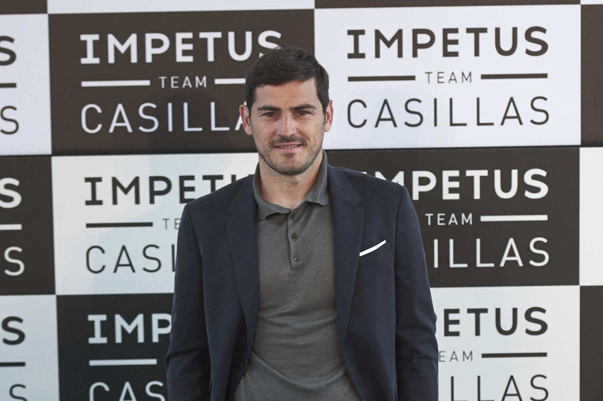 Iker Casillas Presents 'Impetus Team Casillas' in Madrid