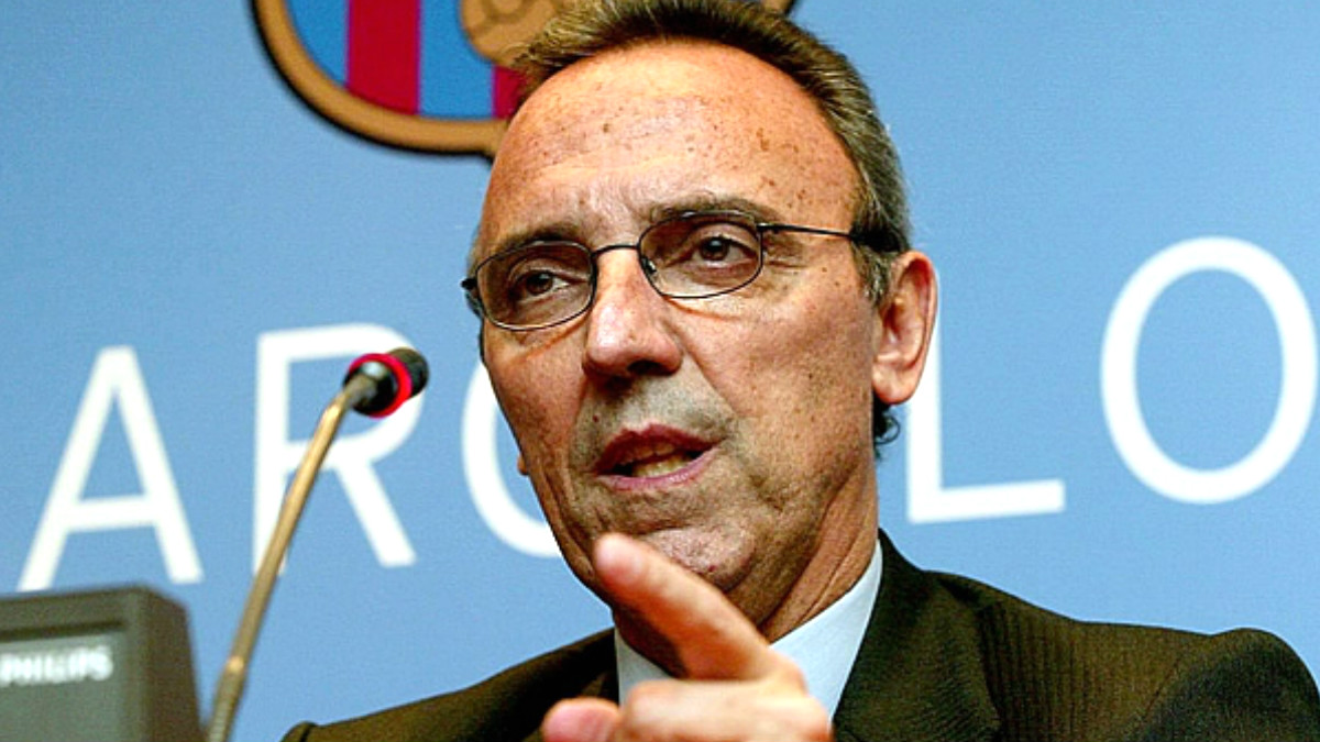 Joan Gaspart, ex presidente del Barcelona.
